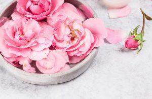 Beneficios del agua de rosas para la piel