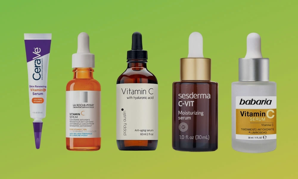 Los mejores sueros faciales con vitamina c y retinol